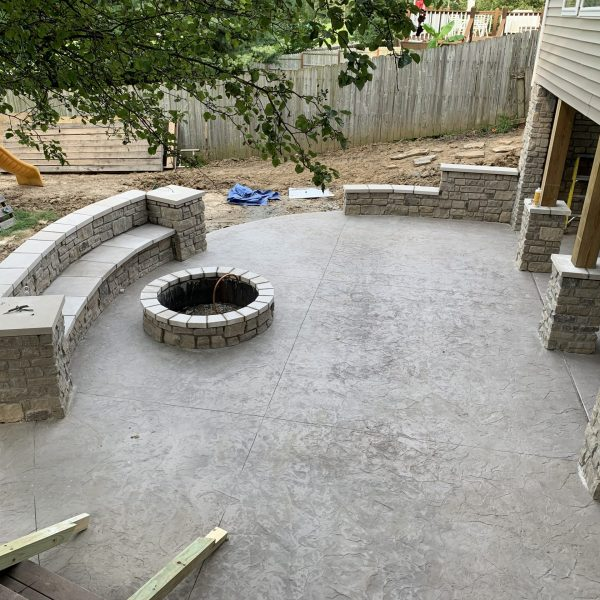 St Louis Outdoor Living Area